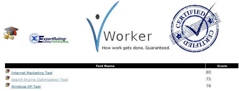 vworker certified